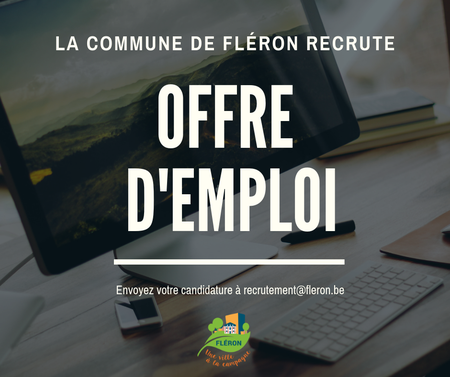 La Commune recrute : machiniste