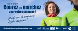 """Challenge """"Je Cours Pour Ma Commune"""" du 6 au 21 juin"""