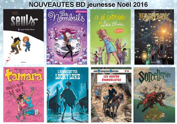 NouveautesBDjeunesse noel 2016