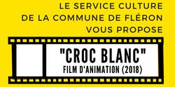 """Ciné-club famille à la maison - """"Croc blanc"""""""