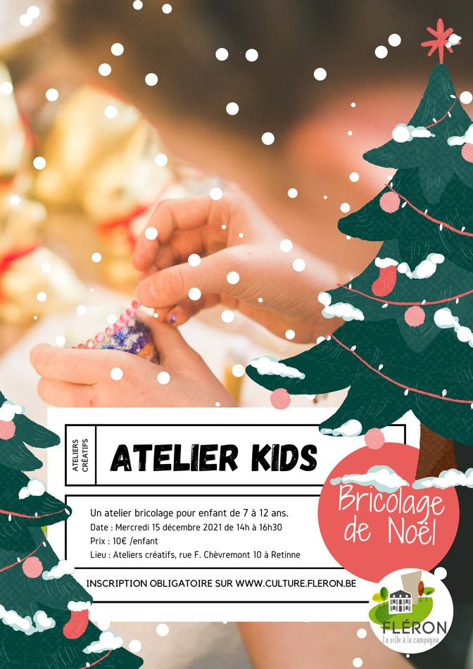 ATELIER KIDS 2021 Noël